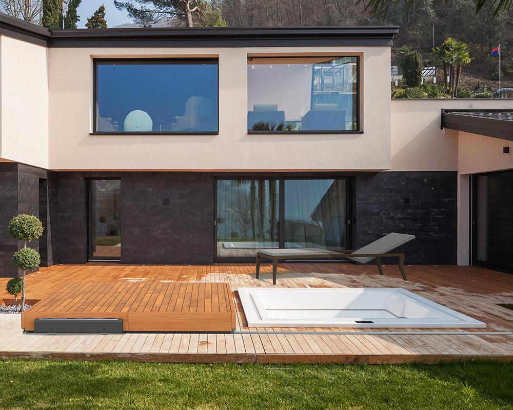 Terrasses Mobiles pour Spa Diblue