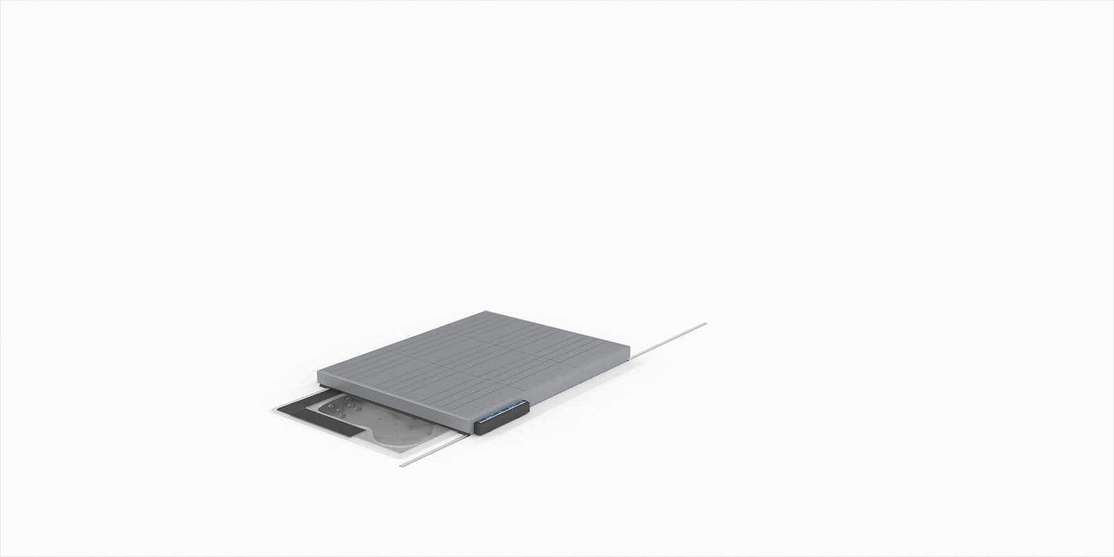Terrasses Mobiles pour Spa de Diblue
