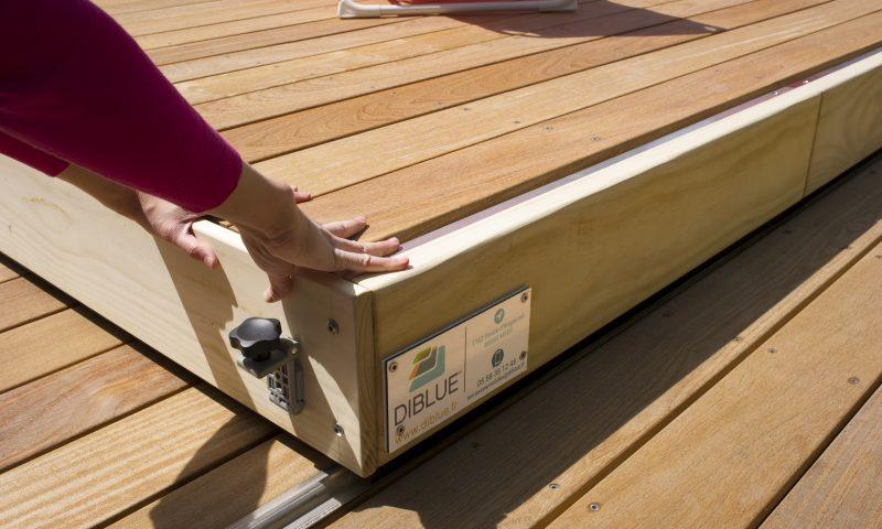 Légèreté, technologie, élégance et design pour cette terrasse mobile