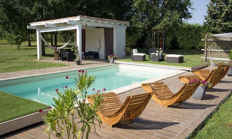 Terrasse Mobile piscine DIBLUE