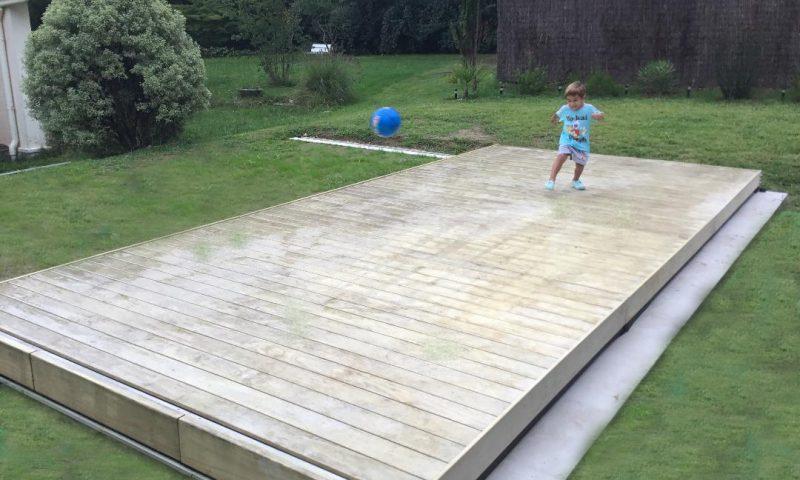 terrasse mobile piscine à Mées 40990