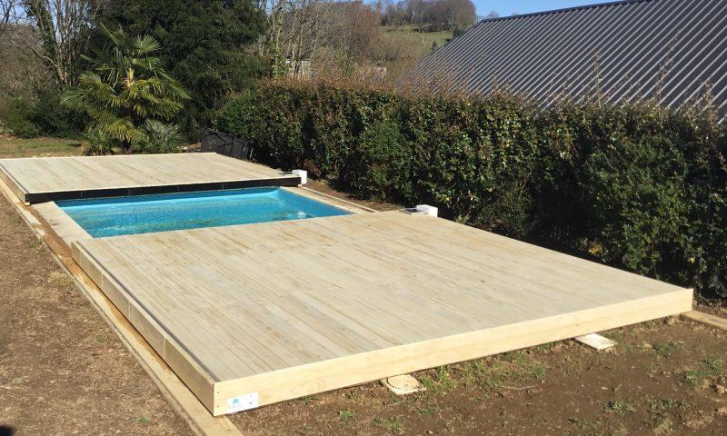 terrasse mobile motorisée pour piscine par DIBLUE